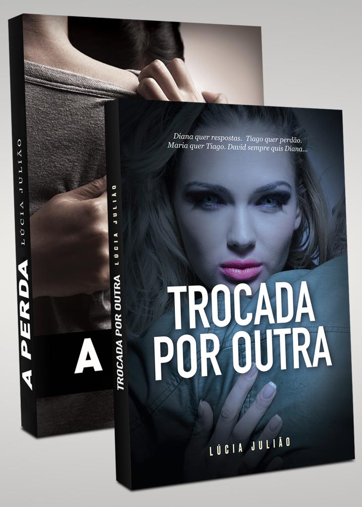 Romances A perda e Trocada por Outra - Lúcia Julião retangular vertical